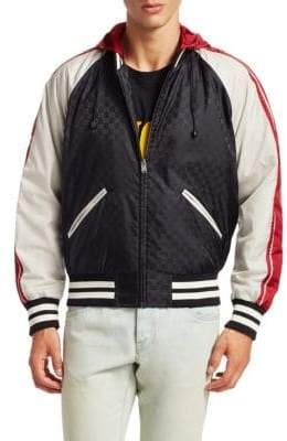Gucci Nylon GG Jacquard Jacket
