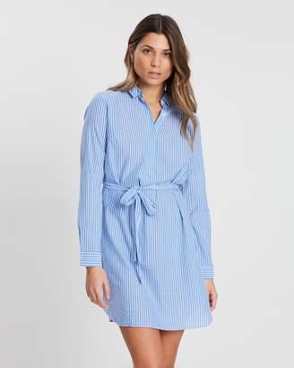Jack Wills Baysdale Stripe Shirt Dress