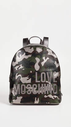 Moschino Love Camo Backpack