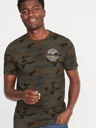 Old Navy Camo-Graphic Soft-Washed Tee for Men