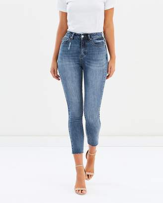 Atmos & Here ICONIC EXCLUSIVE - Devina High Waist Skinny Jeans