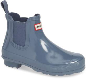 Hunter Gloss Waterproof Chelsea Boot