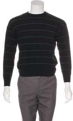 Ami Alexandre Mattiussi Long Sleeve Crew Neck Sweater