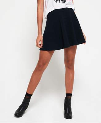 Superdry Wave Textured Skater Skirt