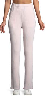 Tory Sport Wide-Leg Performance Cashmere Pants