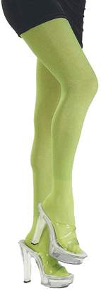 Rubie's Costume Co Lime Green Glitter Tights Adult