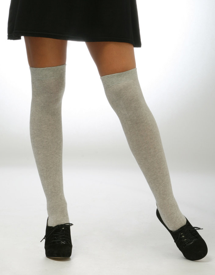 ASOS Ribbed Over Knee Socks