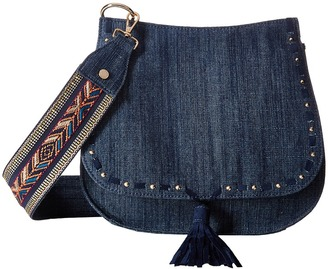 Steve Madden - Bswiss Saddle Bag w/ Guitar Handbags $88 thestylecure.com