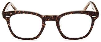 Corinne McCormack Annie Leopard Print Square Keyhole Readers, 46mm
