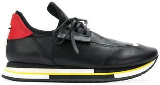 Artselab sole colourblock lace-up sneakers