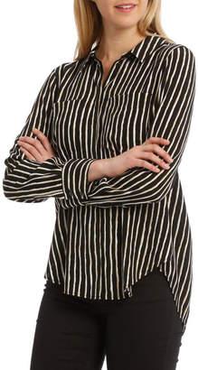 Boxy Long Sleeve Shirt