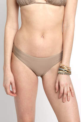 Pilyq Basic Rushed Sand Hipster Bikini Bottoms