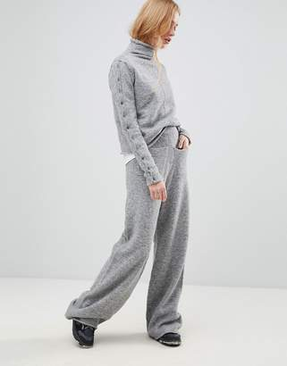 Shae Alpcaca and Merino Wool Blend Lounge Pants