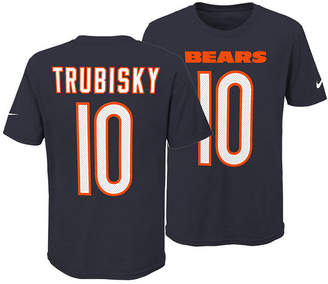 Nike Mitchell Trubisky Chicago Bears Pride Name and Number 3.0 T-Shirt, Big Boys (8-20)