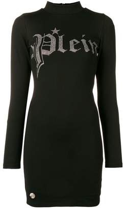Philipp Plein long sleeves dress
