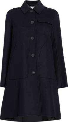 Carven Wool Peacoat