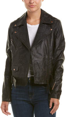 Robert Graham Leather Jacket
