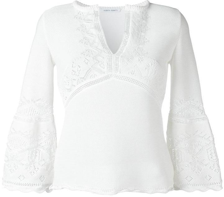 Alberta FerrettiAlberta Ferretti v-neck sweater