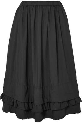 Comme des Garcons Jersey Midi Skirt - Black