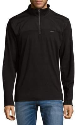Calvin Klein Half-Zip Sweatshirt