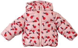 Stella McCartney Ladybugs Printed Nylon Puffer Jacket