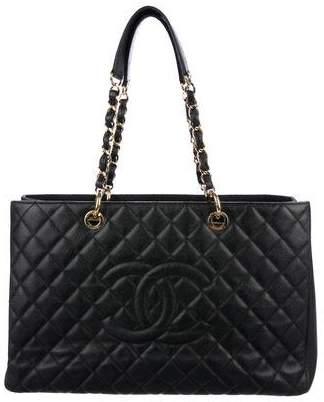 Chanel Caviar XL Grand Shopping Tote