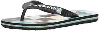 Quiksilver Boys' Molokai Resin Check Youth Sandal