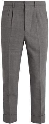 Ami Slim-leg wool trousers