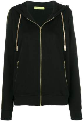 Versace logo sleeve jacket