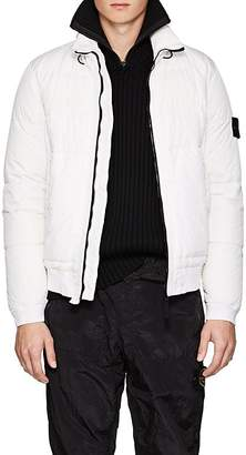 Stone Island Men's Garment-Dyed Down Puffer Jacket