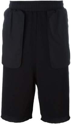 Damir Doma oversized pocket ribbed shorts