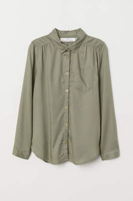 H&M Viscose Shirt - Green