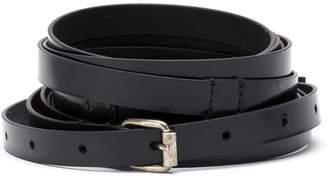 Ann Demeulemeester distressed buckle belt