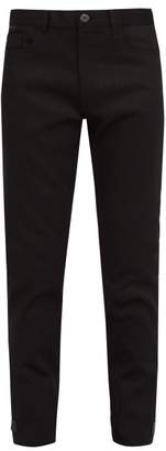 Prada Straight Leg Jeans - Mens - Black
