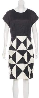 3.1 Phillip Lim Short Sleeve Knee-Length Dress
