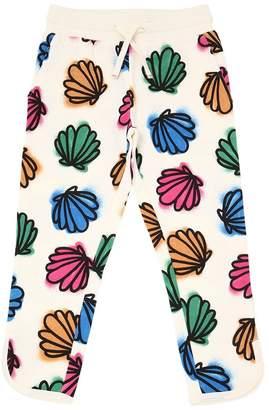 Stella McCartney Seashells Print Cotton Sweatpants