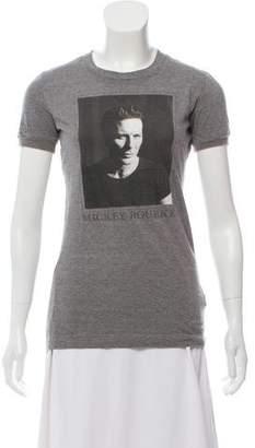 Dolce & Gabbana Mickey Rourke Graphic Print T-Shirt