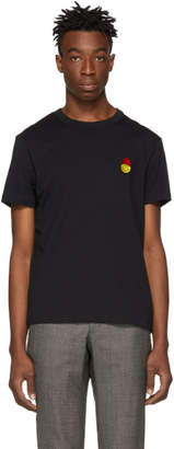 Ami Alexandre Mattiussi Black Smiley Edition Patch T-Shirt