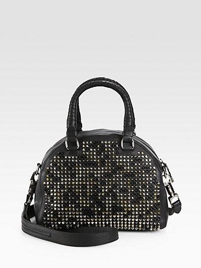 Christian Louboutin Panettone Small Studded Bowling Bag