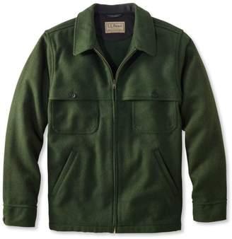 L.L. Bean L.L.Bean Men's Maine Guide Zip-Front Jac-Shirt