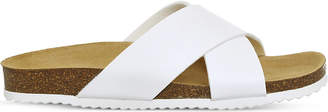 Office Hoxton 2 faux-leather sliders