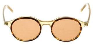 Tomas Maier Round Tinted Sunglasses