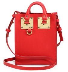 Sophie Hulme Albion Nano Leather Tote $495 thestylecure.com
