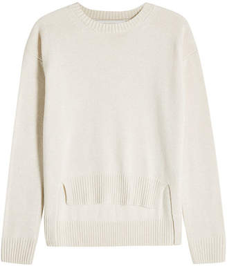 Rosetta Getty Cashmere Pullover with High-Low Hem 95adf7931