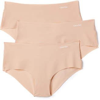 Calvin Klein Underwear Invisibles Hipster 3 Pack $33 thestylecure.com