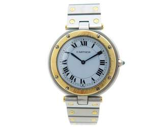 Cartier Vintage Santos Ronde Multicolour gold and steel Watches