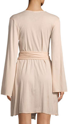 Skin Karin Cotton Wrap Robe