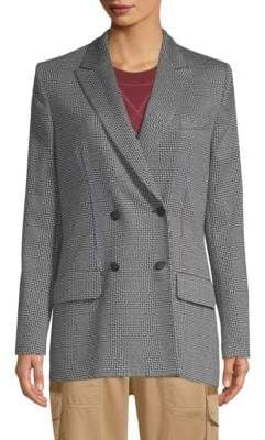 Tommy Hilfiger Tommy Double-Breasted Fitted Blazer