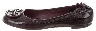 Tory Burch Patent Leather Reva Flats