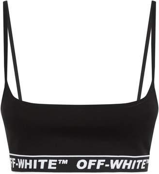 Off-White Off White Logo Sports Bra